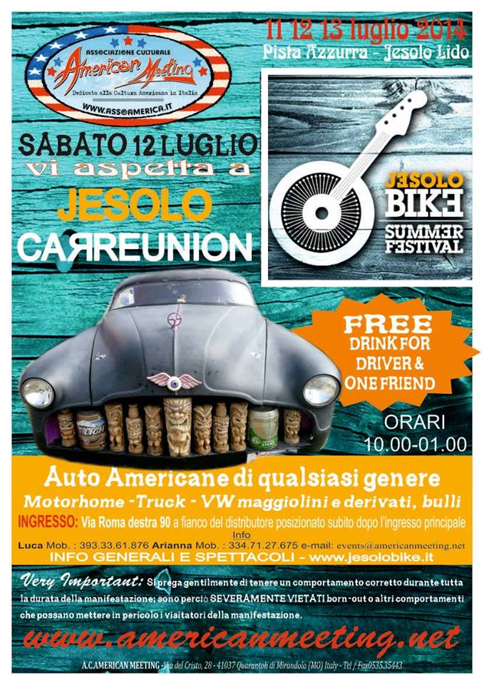 Jesolo Summer Festival-Car Reunion